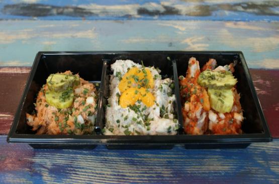 salade+trio+makreel