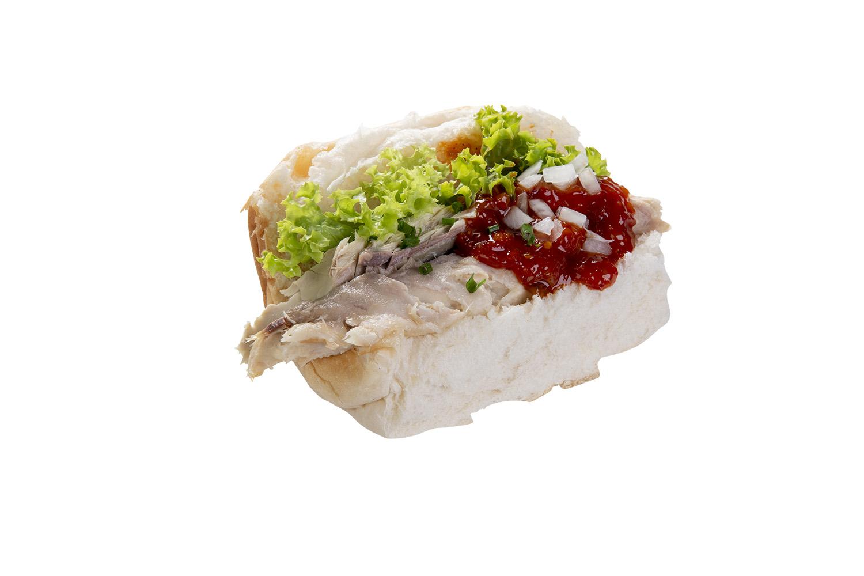 Broodje Hete Makreel