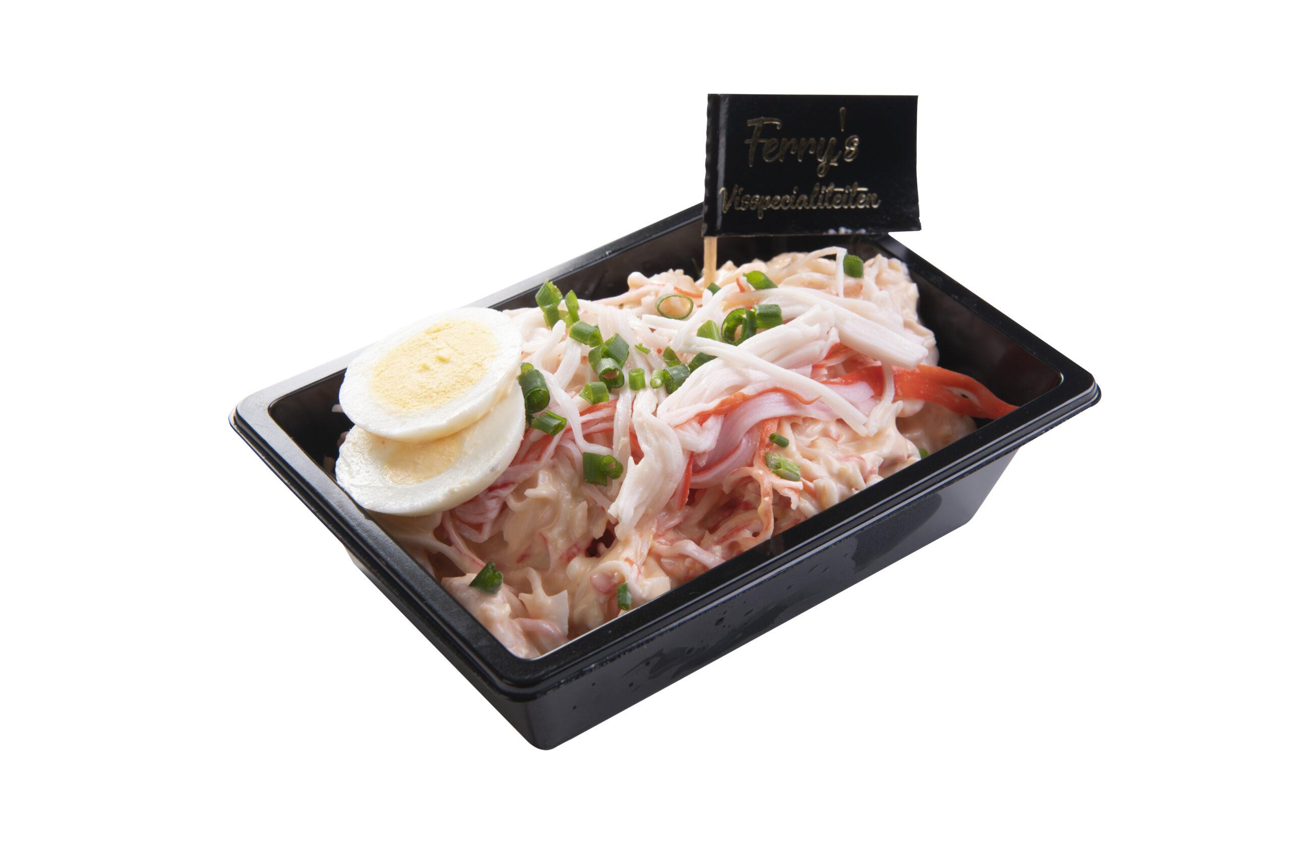 Krab Garnalen Salade Per 100 Gram