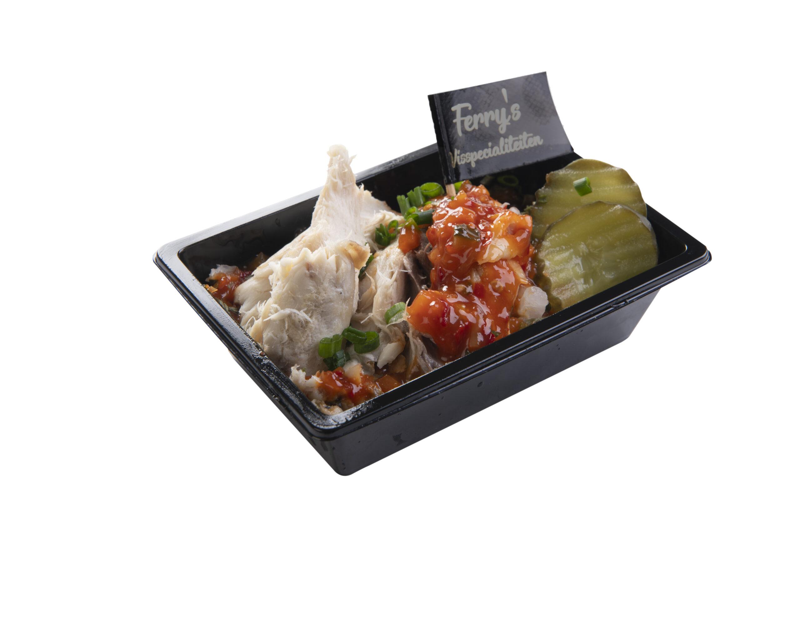 Hete Makreel Salade Per 100 Gram