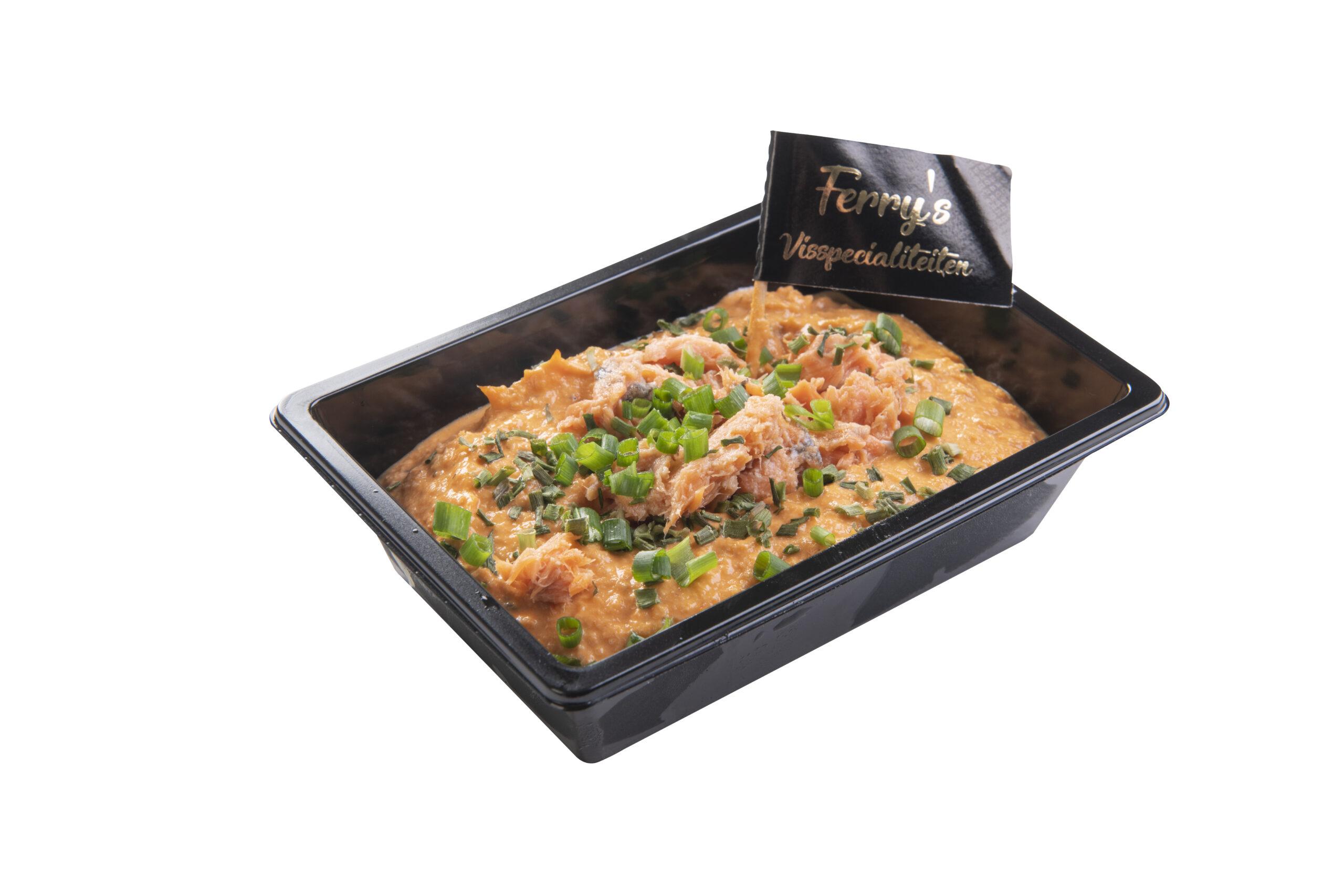 Pure Zalm Salade Per 100 Gram